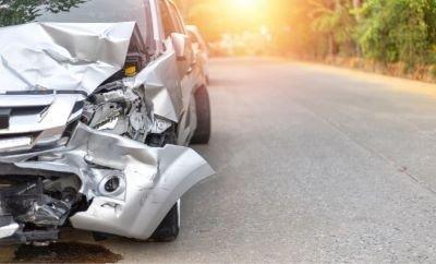 Accidente de tráfico con coche prestado