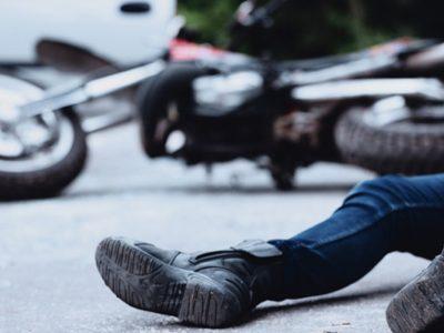 Indemnizacion por lesiones en accidente de trafico en moto
